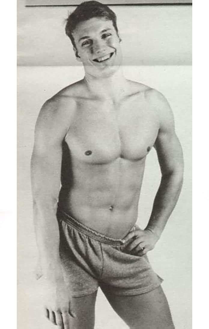 Дольф Лундгрен, молодые кинозвезды, редкие фото
