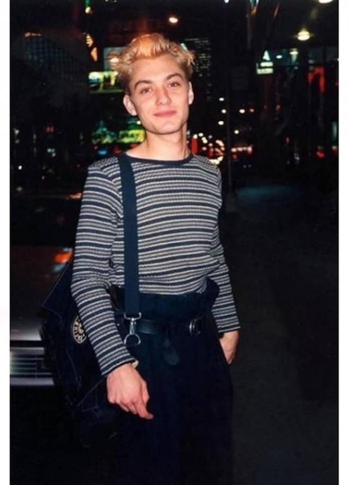 Джуд Лоу, молодые кинозвезды, редкие фото