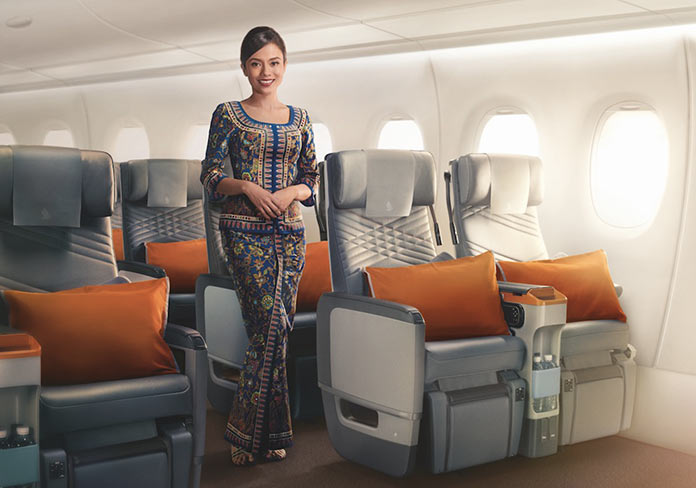 Самый длинный в мире беспосадочный рейс Singapore Airlines