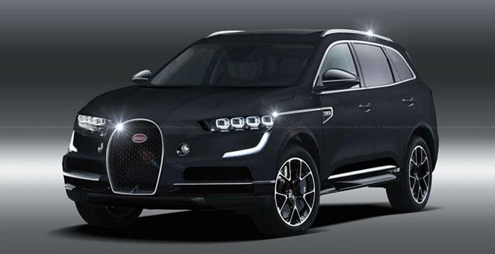 Концепт внедорожника Bugatti