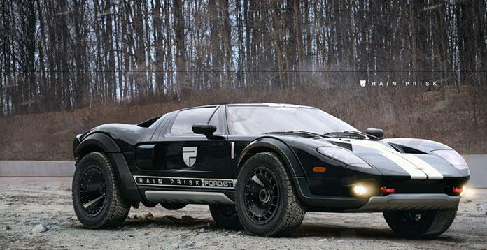 Ford GT концепт внедорожника от Рэйна Приска