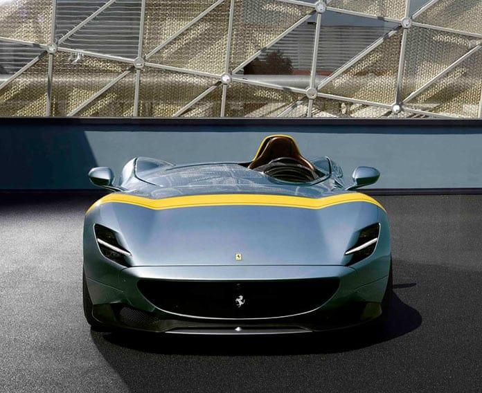 Ferrari Monza SP1, вид спереди