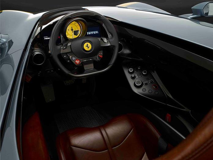 Ferrari Monza SP1, салон