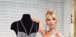 Эльза Хоск показывает Victoria's Secret Fantasy Bra 2018