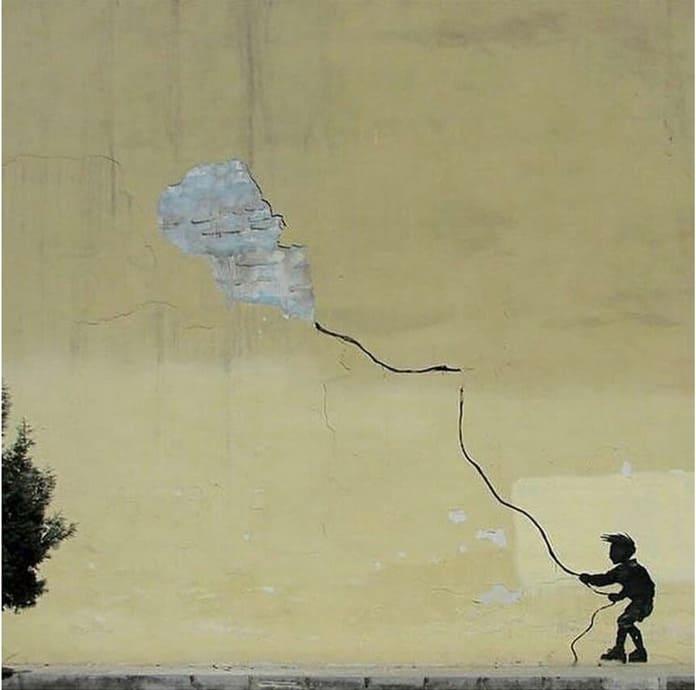 Злободневный стрит-арт от Nafir, Иран