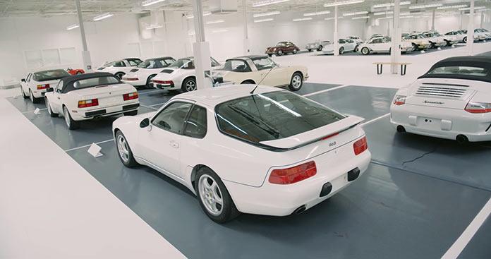 Секретная коллекция белых Porsche. Porsche club fo America