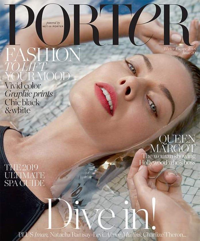 Марго Робби в журнале Porter