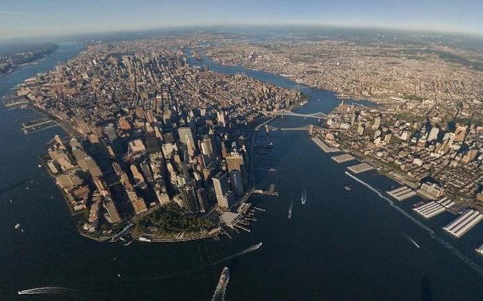 Нью-Йорк. Авиарейсы с самыми живописными видами из окна