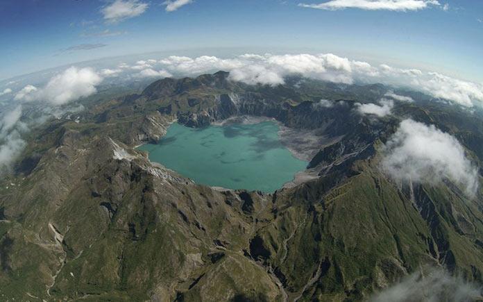 Гора Пинатубо. Авиарейсы с самыми живописными видами из окна