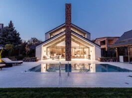 Архитектура. Частный дом 400 кв. м. Проект архитектурной студии Чадо