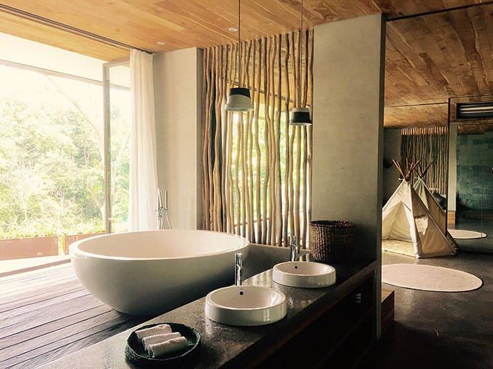 Ванная. Вилла «Хамелеон» на Бали