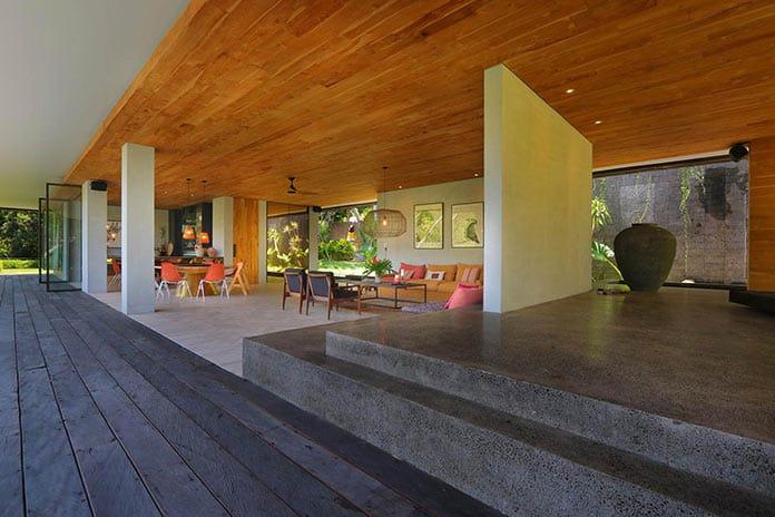 Гостиная. Вилла «Хамелеон» на Бали